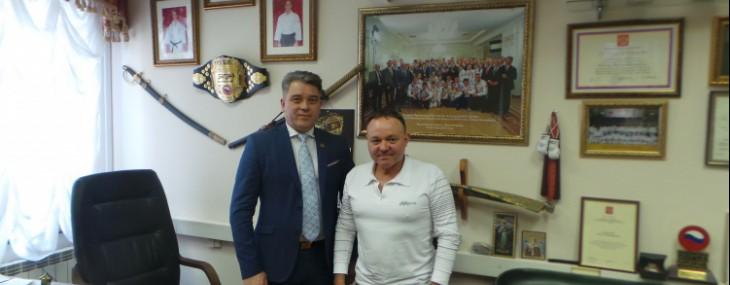 Президент ФВКР Рамиль Габбасов встретился с руководством филиала РСБИ по РТ