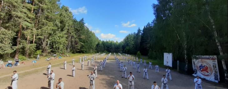Летний лагерь студенческой федерации всестилевого каратэ