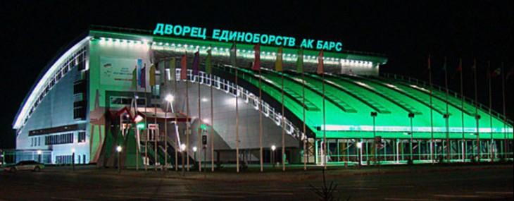 Всероссийские соревнования по всестилевому каратэ в Казани