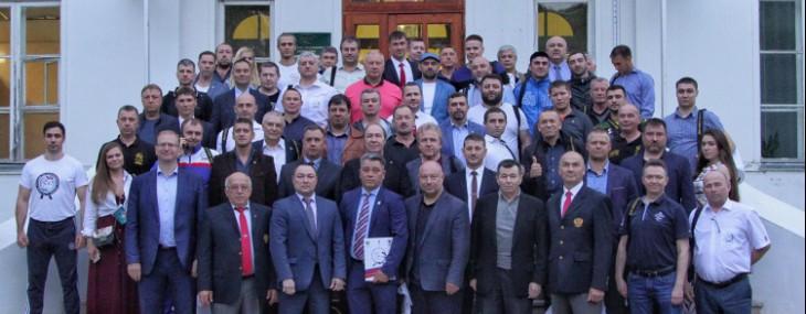 Поздравление Президента ФВКР Рамиля Габбасова с Днем Защитника Отечества!