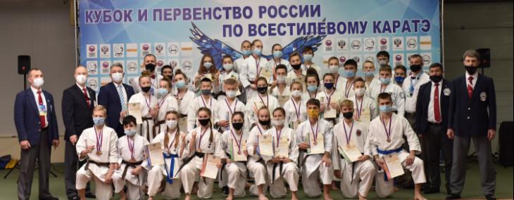 Спортсмены из более чем 40 регионов принимают участие в Первенстве и Кубке России по всестилевому каратэ