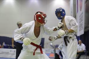 В Анапе проходит чемпионат России по всестилевому каратэ