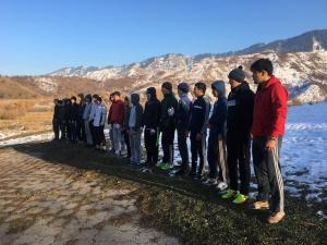 Учебно-тренировочный сбор Казахстанской Федерации всестилевого каратэ