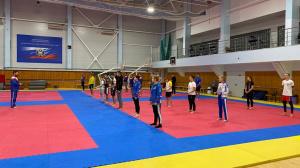 На РУТБ «Ока» проходят сборы кандидатов в спортивные сборные команды России по всестилевому каратэ